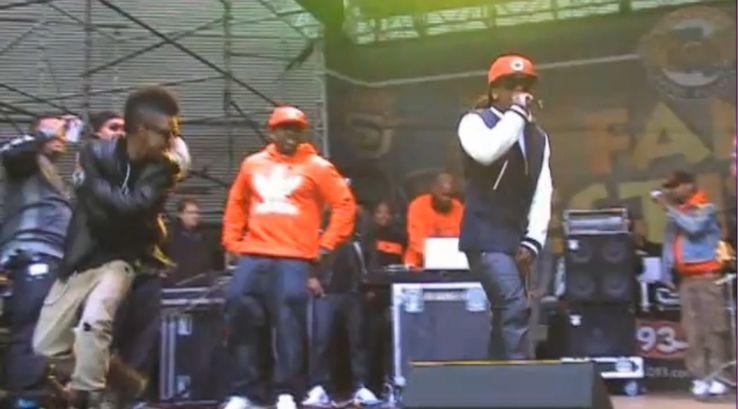 Vídeo: Apresentação do Lil Wayne no Festival Bayou Classic