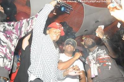 Fotos: Lil Wayne no Aniversário do Dj Khaled