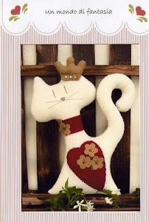 Un mondo di fantasia gatto cuore 783154 Gatos para vários fins (inclusive patchcolagem) para crianças