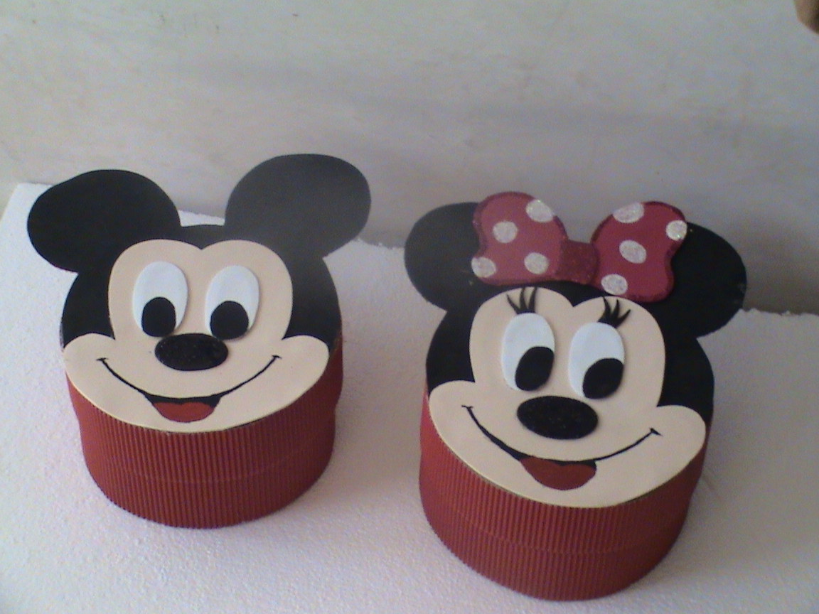 Dulceras Minnie Y Mickey Mouse