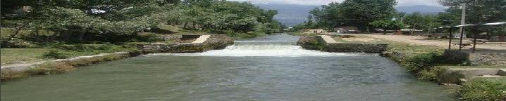 Waterfall in Onagam - On Nehr Zainagir)(The Zainagir Canal - Irrigation Channel)