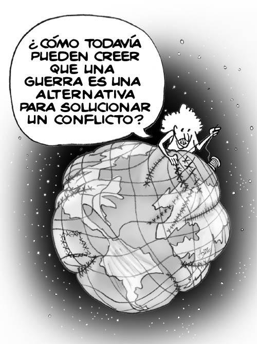 mundo sin guerra: