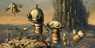 Machinarium hand drawn adventure game