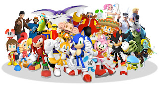 Sonic & SEGA All-Stars Racing FREE Poster