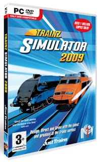 Trainz 2009 video simulator