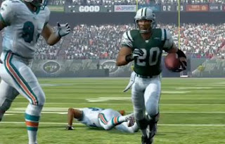 madden nfl 10 east running back