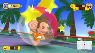 super monkey ball step and roll nintendo wii screenshot monkey in ball