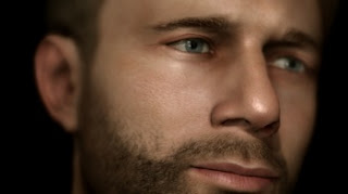 heavy rain ps3 exclusive head shot of