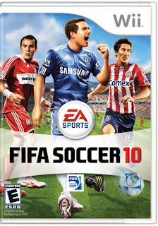 FIFA 10 wii box art with players