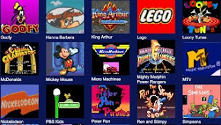 classic video game screens