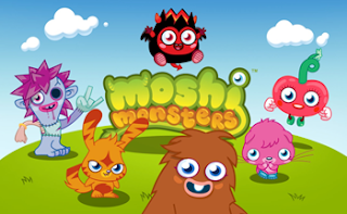 Moshi Monsters with game logo