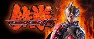 tekken 6 logo and fighter