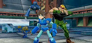 megaman fighting for his life