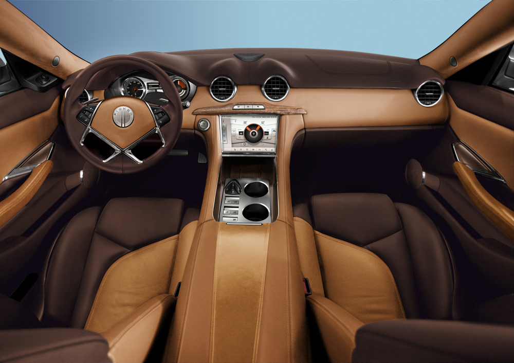aot classic cars fisker karma interior 2011 images. Black Bedroom Furniture Sets. Home Design Ideas