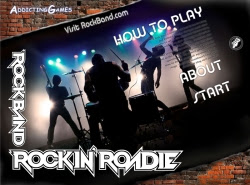 Rock Band Roadie - Flash Game Review
