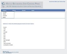 Catálogo das BE/CRE