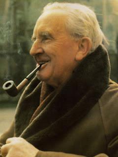 Uma fotografia de Tolkien
