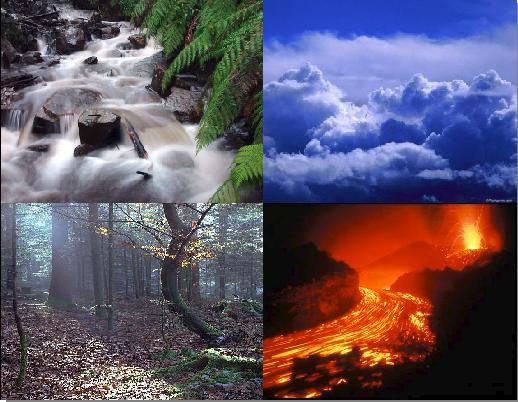 Aire, Tierra, Fuego, Agua (Cuento propio)