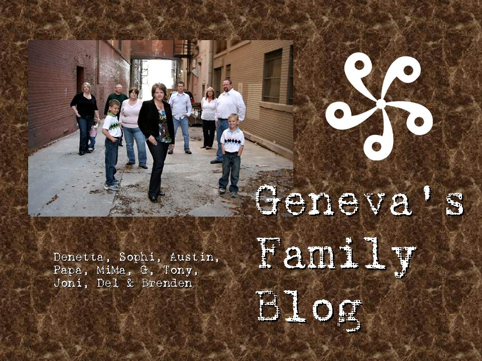 Geneva's Family Blog