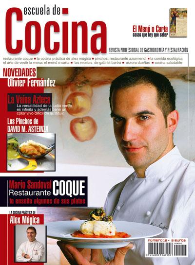 Revista escuela de cocina n 16 y 17 cocinova for Escuela de cocina