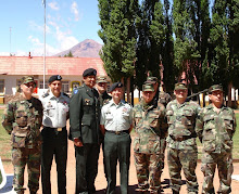 UPORFA Visits Andes Infantry Base