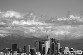 Skyline view of Downtown Los Angeles