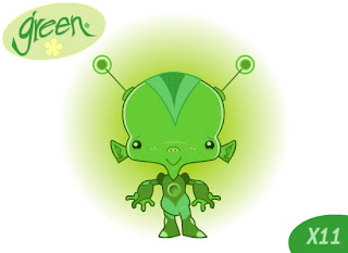 Green: Green Characters