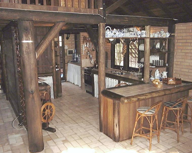 O bar-cozinha