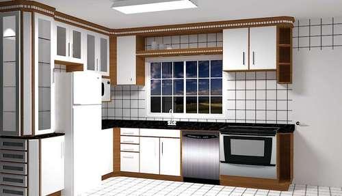 Desenhamos uma cozinha á sua medida