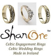 Celtic Wedding Rings By Shanore