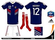 Sigo con las selecciones integrantes del Grupo A del Mundial, Francia, .