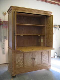 Atelier mains libres armoire couture for Vaillancourt meubles