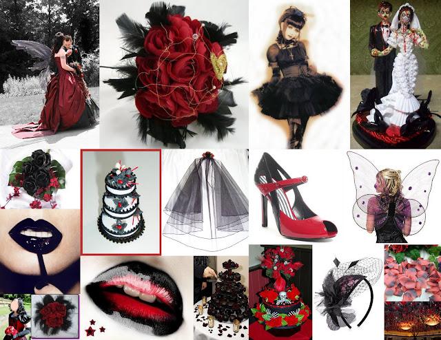 a gothic wedding ceremony Here 39s a few ideas I found