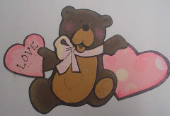Love Bear Paper Piecing