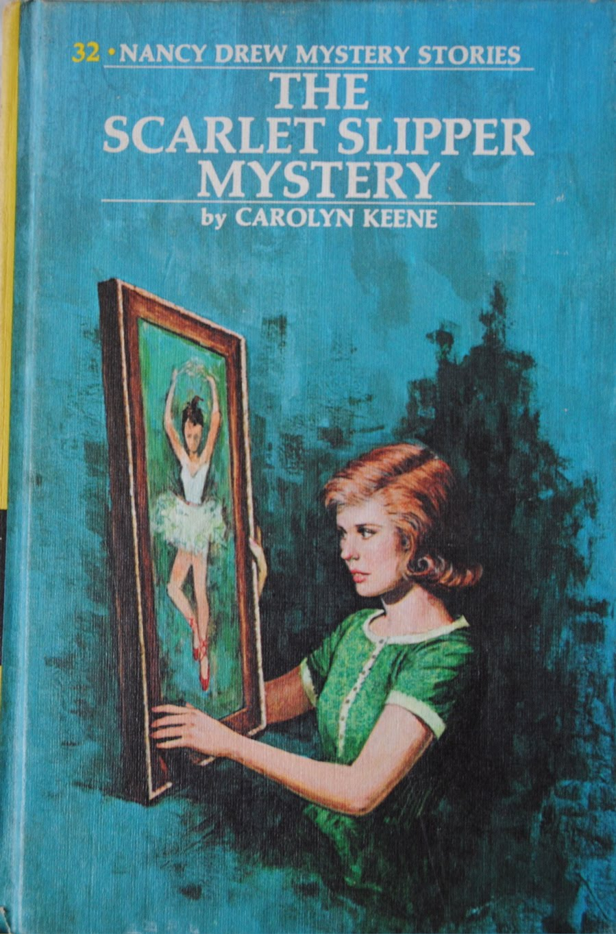 Nancy Drew Mystery Stories The Mystery at Lilac Inn No. 4 Carolyn Keene 1961 Vtg
