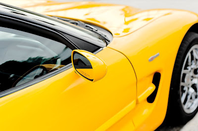 Z06 Yellow Chevrolet Corvette