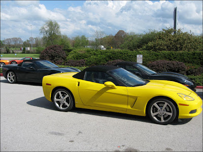 2008 Yellow Chevrolet Corvette