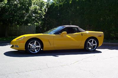 2005 Corvette Convertible Yellow