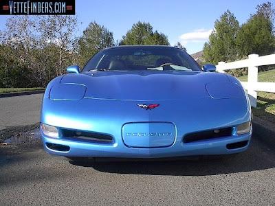 Corvette Coupe 2000 Nassau Blue Front Picture