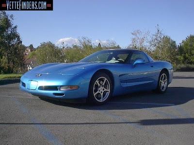 Corvette Coupe 2000 Nassau Blue Picture