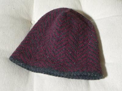 Babies Hats Knitting Patterns : MENS FAIR ISLE HAT KNITTING PATTERN   KNITTING PATTERN