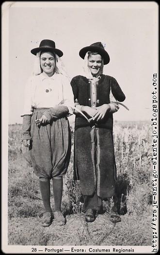 Trajes antigos do Alentejo.  Evora  Costumes do Alentejo eb8bc3f2b4b
