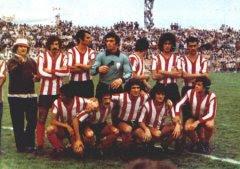 El Biri en una alineacion con el Algeciras