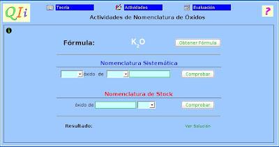 Fsica y qumica jos vicente formulacin y nomenclatura formulacin y nomenclatura inorgnica interactiva urtaz Choice Image