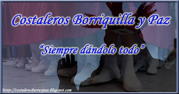 Costaleros Borriquilla y Paz