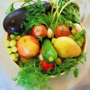 sayur buah gandum