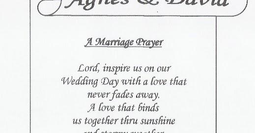Prayer For Wedding Meal Tbrb Info