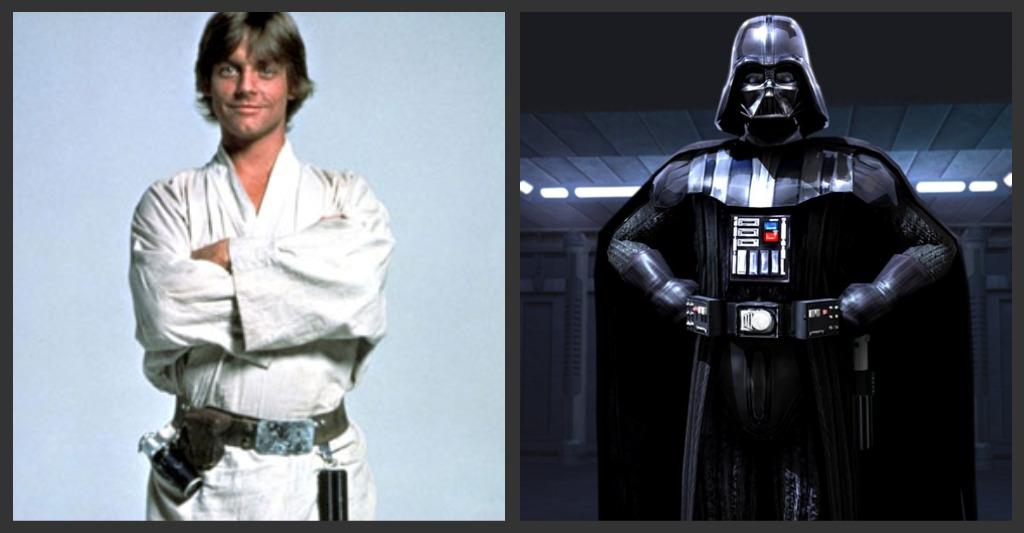 Luke Skywalker vs. Darth Vader | Journal