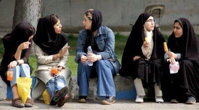 Persiska damer i Persien