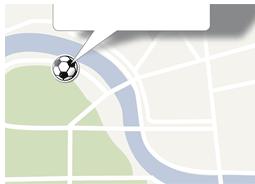 Fußball WM 2010-Pin